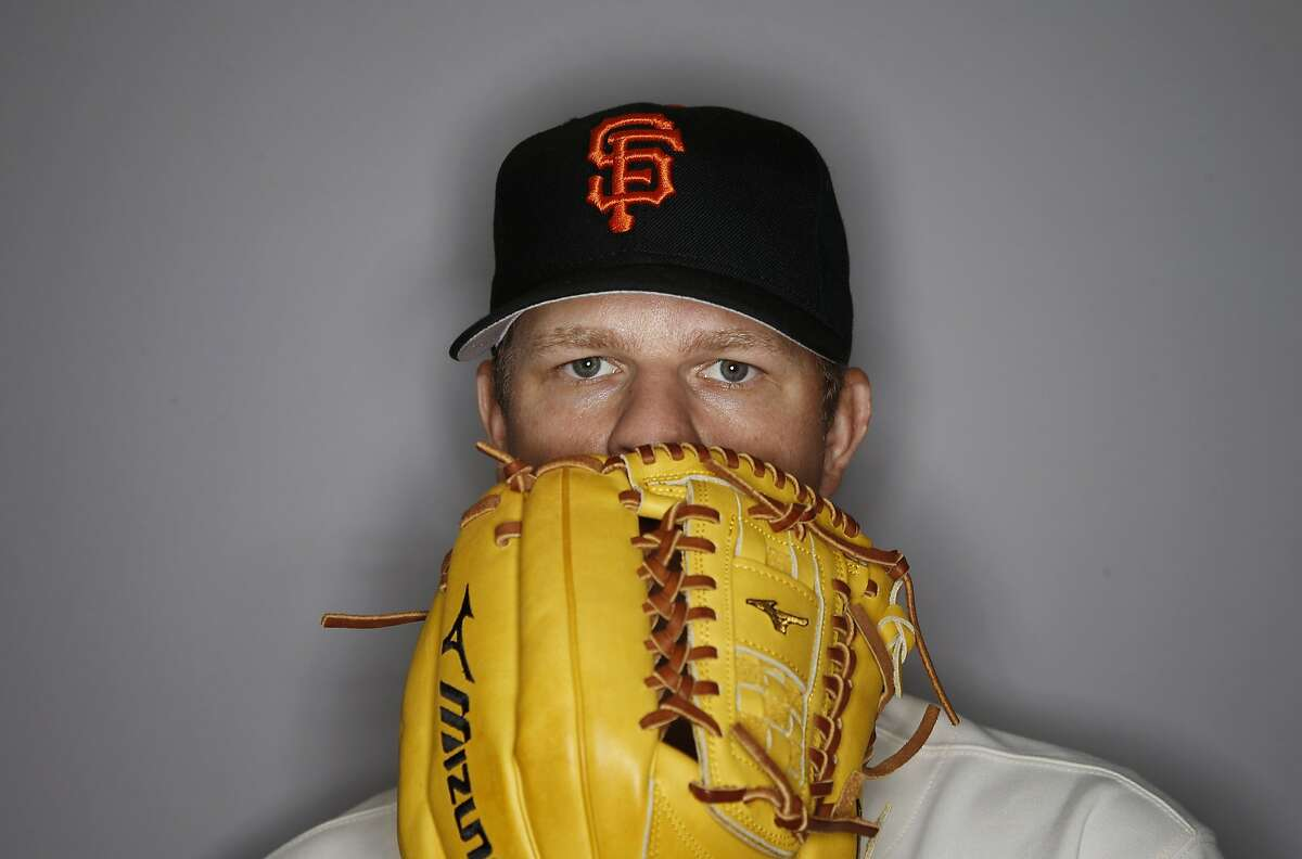 This is a 2016 photo of Matt Cain of the San Francisco Giants baseball team. This image reflects the 2016 active roster as of Sunday, Feb. 28, 2016 when this image was taken. (AP Photo/Morry Gash)