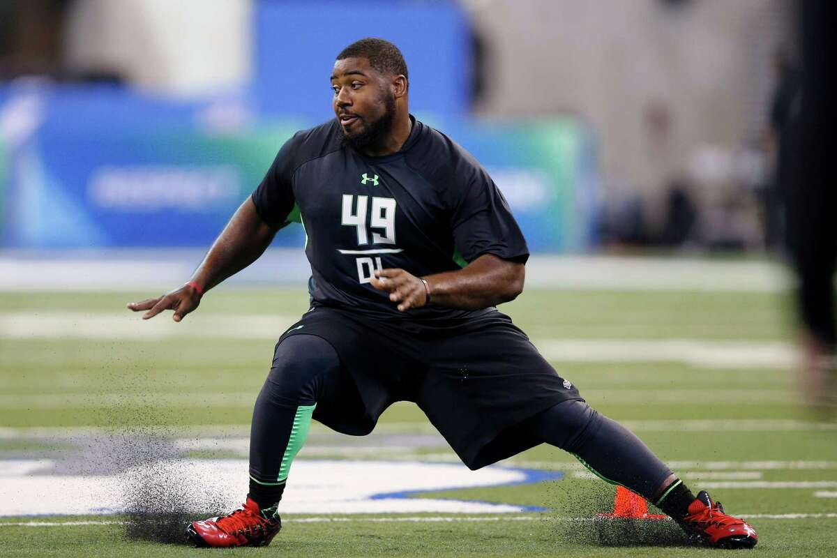 Sheldon Rankins, Louisville Height/ weight: 6-2, 304 40-yard dash: 4.8 Rankins had 58 tackles, 13 tackles for losses and six sacks. He's a stout pass-rusher and run-stopper who has three-down ability. He excelled at the Senior Bowl All-Star game, separating himself from the pack of defensive tackles. Rankins displays tremendous effort and drives blockers into the backfield.