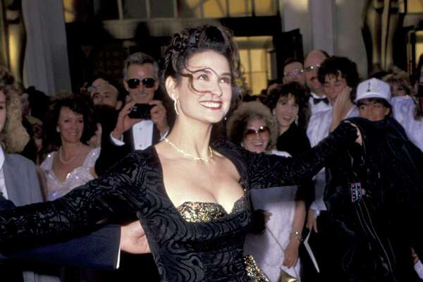 Demi Moore at the Oscars.