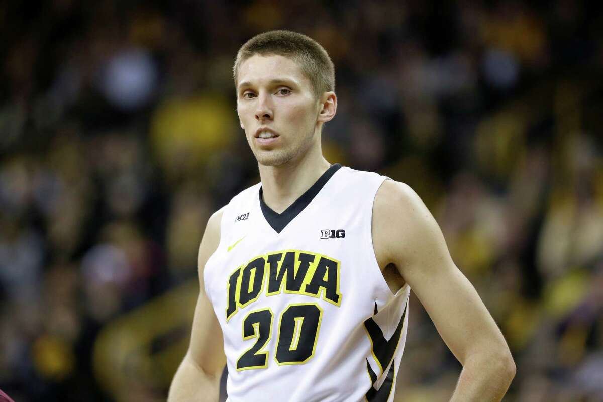 Former Iowa standout Jarrod Uthoff played in nine games for the Mavericks last season, averaging 4.4 points and 2.6 rebounds.