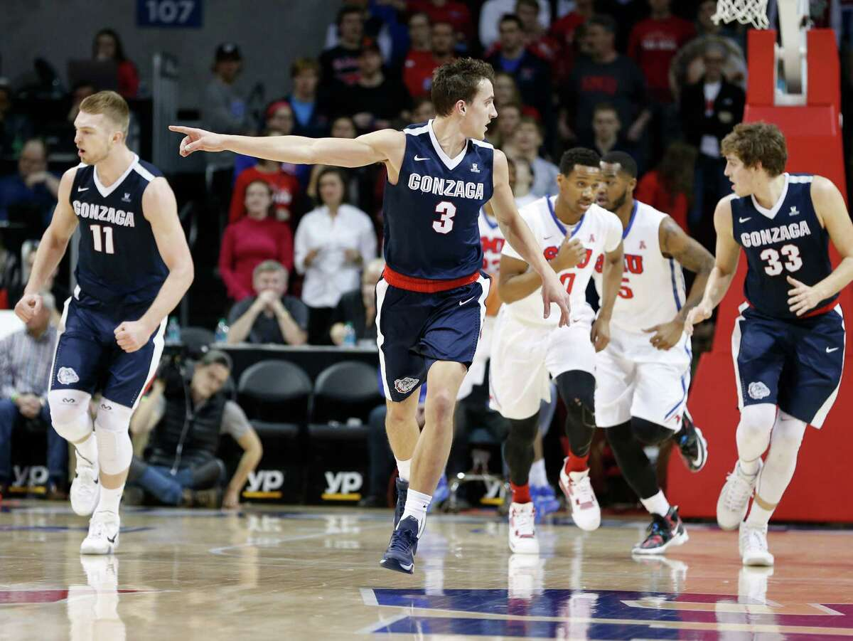 2. Gonzaga The Zags, who've won or shared a league title in 14 of the past 15 seasons, appeared in some postseason peril with two losses in three games in mid-February, but won both road games last week at San Diego and BYU to get back on track.
