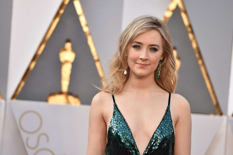 Saoirse Ronan arrives at the Oscars on Sunday, Feb. 28, 2016, at the Dolby Theatre in Los Angeles. (Photo by Jordan Strauss/Invision/AP) Photo: Jordan Strauss, Associated Press