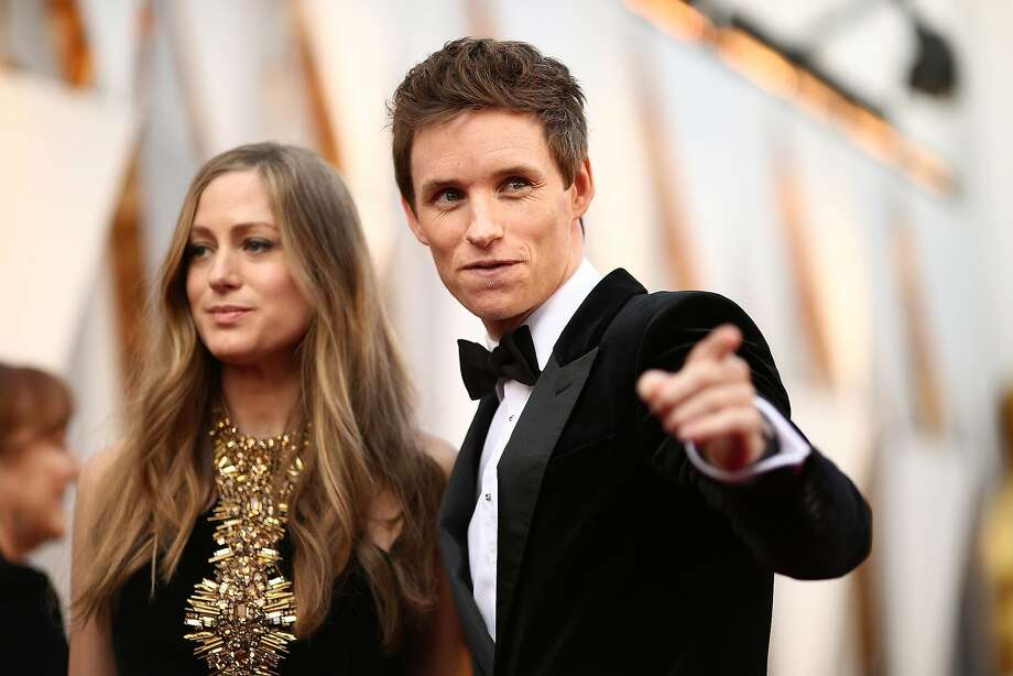 Hannah Redmayne (L) and actor Eddie Redmayne attend the 88th Annual Academy Awards at Hollywood & Highland Center on February 28, 2016 in Hollywood. Photo: Christopher Polk, Getty Images