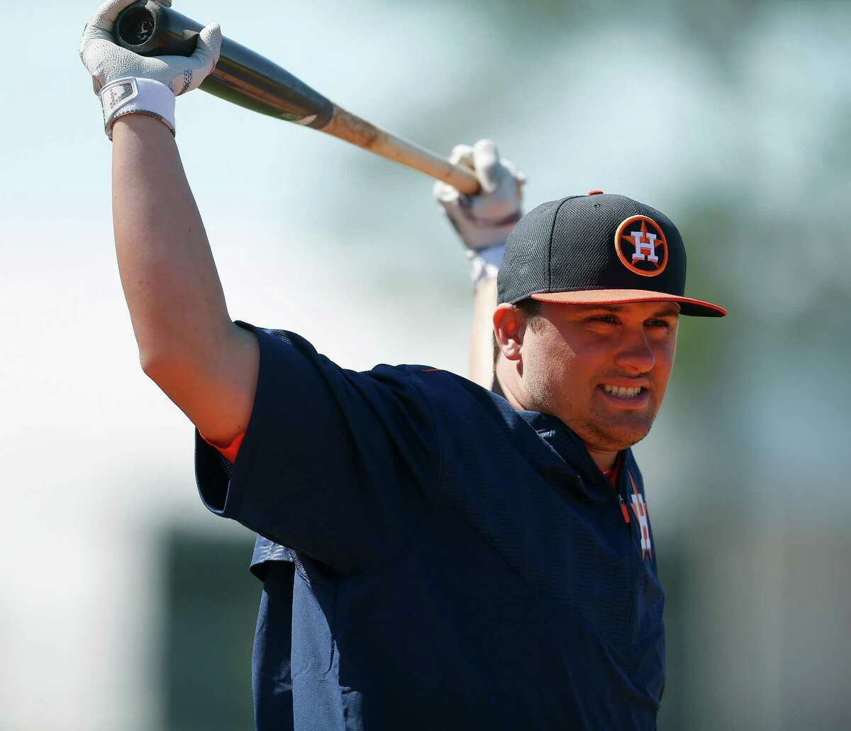 J.D. Davis had an .889 OPS at high Class A Lancaster last year but wants to cut down on his 157 strikeouts.