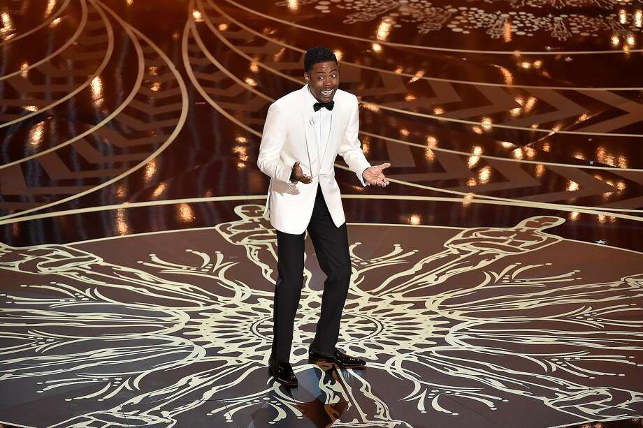Host Chris Rock speaks onstage during the 88th Annual Academy Awards at the Dolby Theatre on February 28, 2016 in Hollywood, California. Photo: Kevin Winter, Getty Images