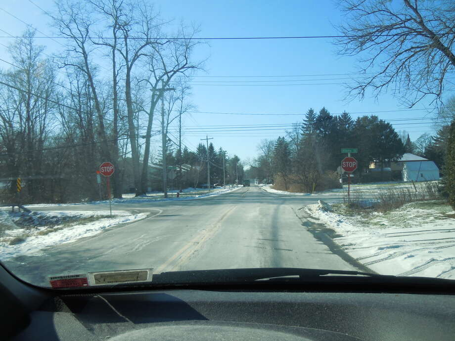South Fagan Street in Colonie has stop signs facing the road on both sides of the street. (Provided photo)