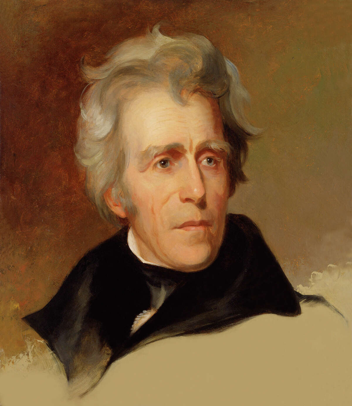 Poverty Jackson was born on what would become the North Carolina - South Carolina state line. He was the son of impoverished Scots-Irish farmers.