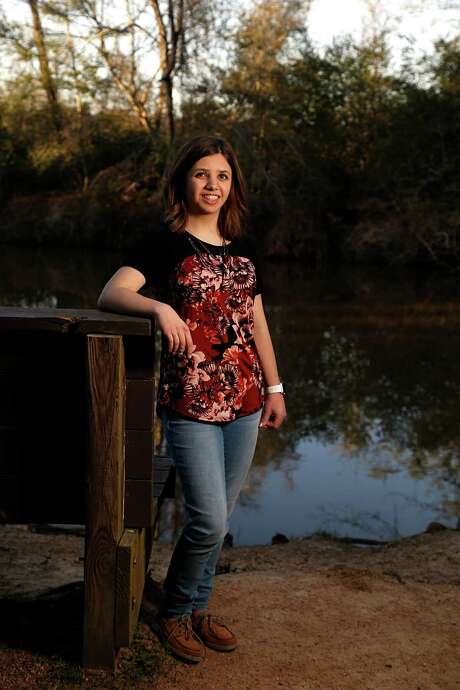 Sydney Svagerko, 14, was diagnosed with Turner syndrome at birth. The rare chromosomal condition affects 1 in 2,000 girls. Photo: James Nielsen, Staff / © 2016  Houston Chronicle