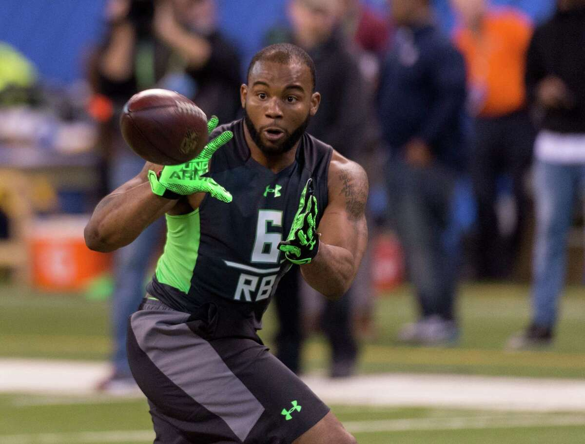RB: Kenneth Dixon, Louisiana TechNotes: While the national media seems to believe running back is a top need for Seattle following the offseason retirement of Marshawn Lynch, the presence of 2015 rookie Thomas Rawls makes us believe they won't spend a high pick on backfield help. However, if Dixon is available in the third or fourth round, the Seahawks may take a serious look at him. After an ultra-productive career at Louisiana Tech, Dixon had mixed results at the combine. He posted a 4.58-second 40-yard dash time, but showed good explosiveness and excelled in field drills as a receiver. The Seahawks will likely be in the market for a third-down back, and Dixon would fit the bill.