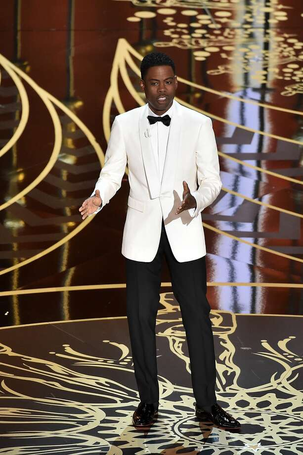 Host Chris Rock delivered a killer opening monologue. Photo: Kevin Winter, Getty Images