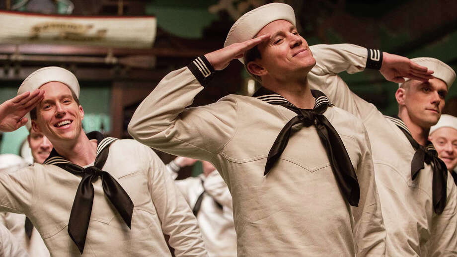"""Channing Tatum (center) plays a tap-dancing musical comedy star of the 1950s in the latest Coen brothers movie, the Hollywood satire """"Hail, Caesar!"""" Photo: Contributed Photo / Connecticut Post Contributed"""