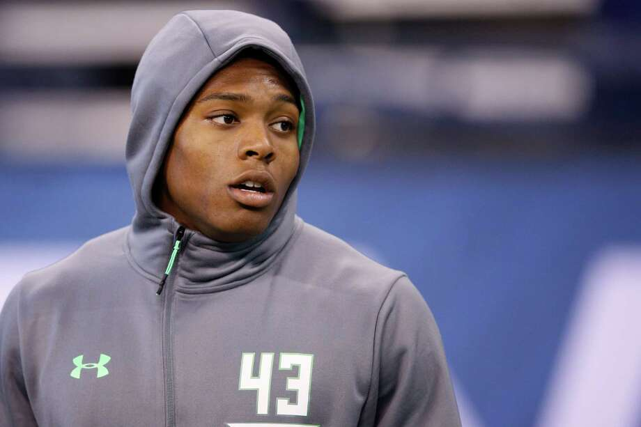 Florida State defensive back Jalen Ramsey put on a show Monday at the NFL combine in Indianapolis. Photo: Joe Robbins, Getty Images / 2016 Getty Images