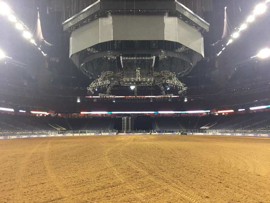 On Monday morning at the NRG Center and NRG Stadium crews with the Houston Livestock Show and Rodeo were making final preparations for the thousands of RodeoHouston attendees that will visit the complex over the next three weeks.  Photo: Craig Hlavaty