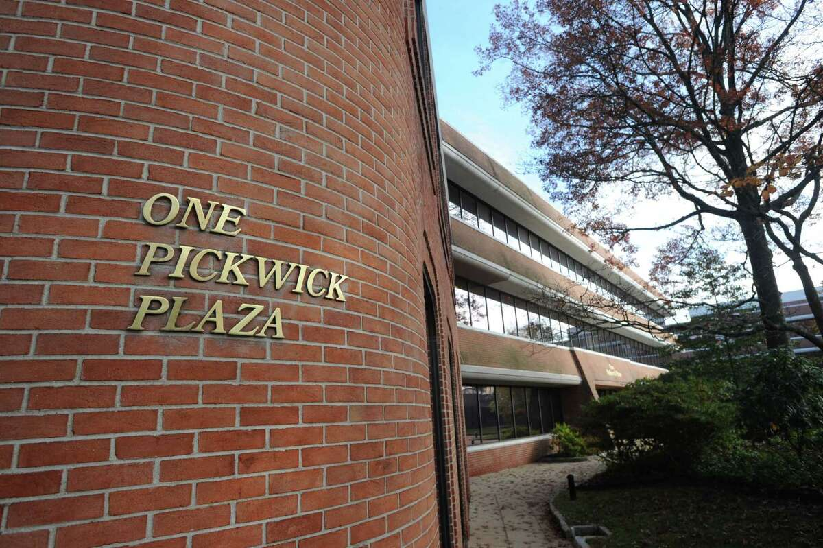 One Pickwick Plaza in Greenwich, Conn., Tuesday, Nov. 11, 2014. One Pickwick Plaza is part of the three-building 280,000-square-foot Class-A office complex located between Greenwich Avenue on the west, East Putnam Avenue on the north, Mason Street on the east and Amogerone Crossway on the south. Kensico Properties is initiating a multi-million dollar capital-improvement program to totally revamp Pickwick Plaza.
