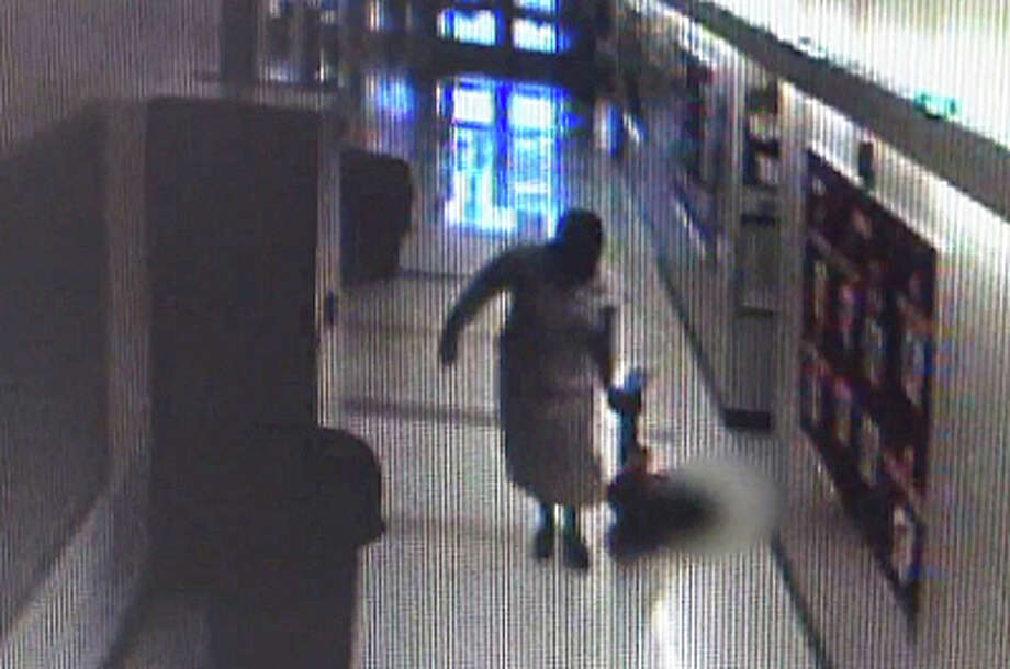 Parents sent News 12 Connecticut videos of three incidents allegedly showing former Jetti Tisdale principal Carmen Perez-Dickson dragging children down the hallway. (1:46 PM) Photo: Contributed Photo / Contributed Photo / Connecticut Post Contributed