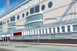 The San Antonio Historic and Design Review Commission will take up expansion and exterior modifications to the Alamodome in a meeting on March 2 that will expand the east and west concourse.