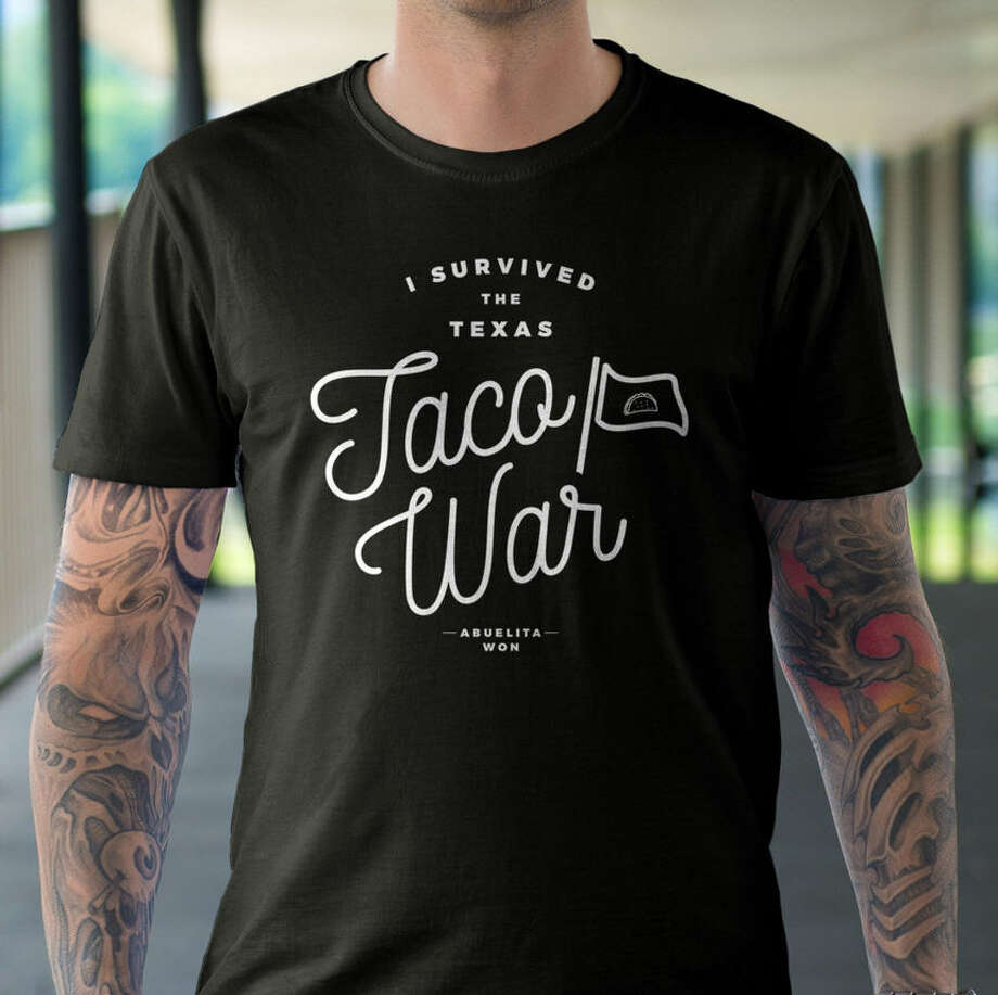 Corpus Christi designer Gerald Flores uses his love for tacos as inspiration. Click the gallery to see some of the taco gear you can order at www.tacocreative.com.