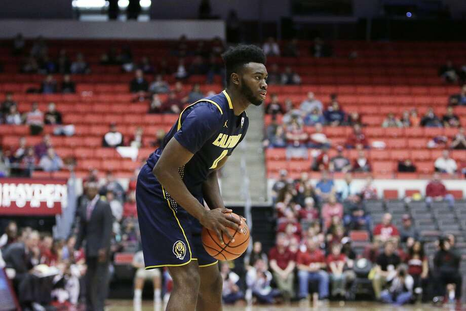 California's Jaylen Brown (0) holds the ball during the second half of an NCAA college basketball game against Washington State, Sunday, Feb. 21, 2016, in Pullman, Wash. (AP Photo/Young Kwak) Photo: Young Kwak, Associated Press