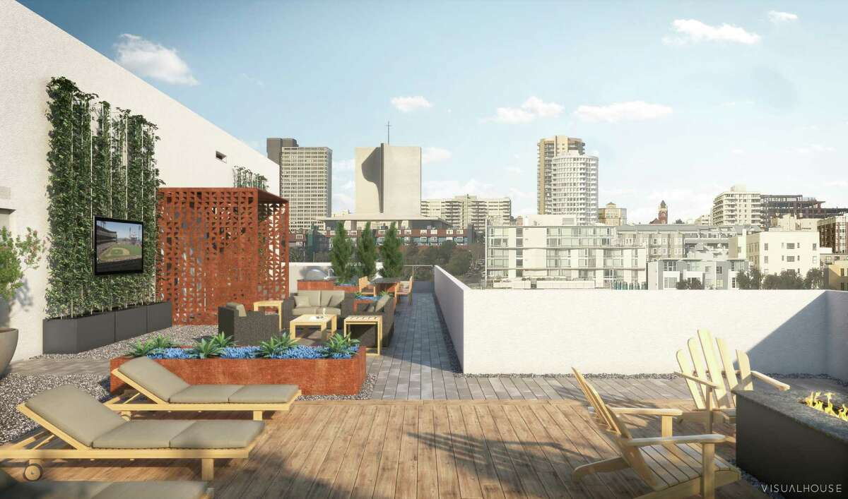 388 Fulton in Hayes Valley: rooftop deck