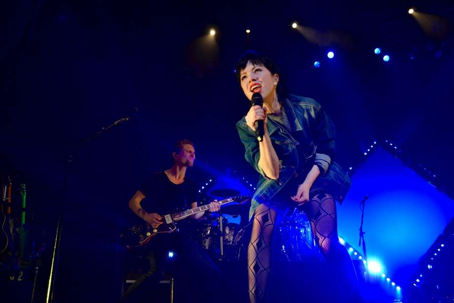 Carly Rae Jepsen performs at a Noise Pop Festival show at the Warfield in San Francisco on February 27, 2016.Photo by Alyssa Pereira/SFGATE.