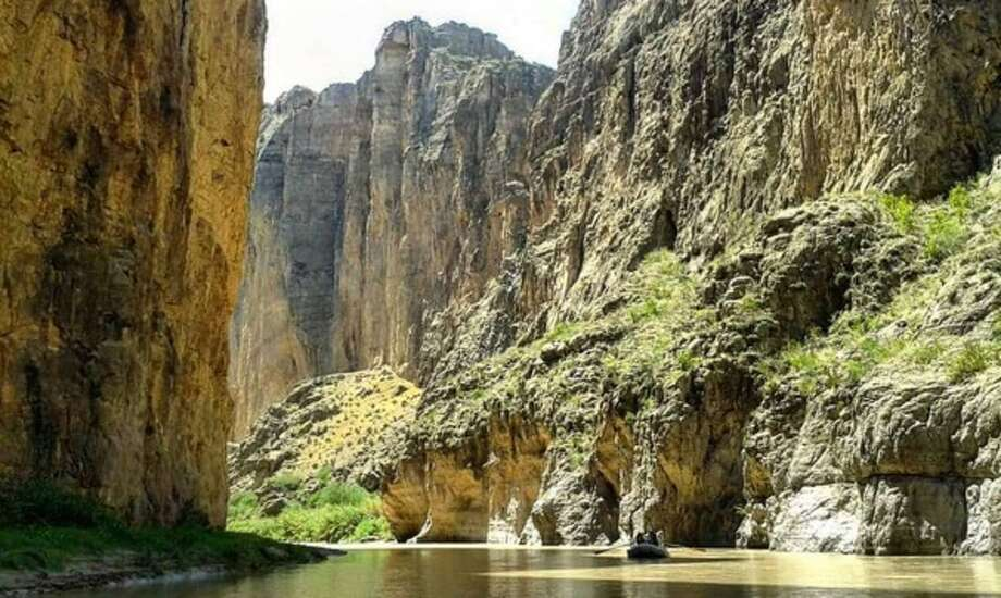 """""""Photo from a #rafting #trip down the #riogrande through #santaelena #canyon a couple years ago"""" Photo: Provide By """"El Ranger."""""""