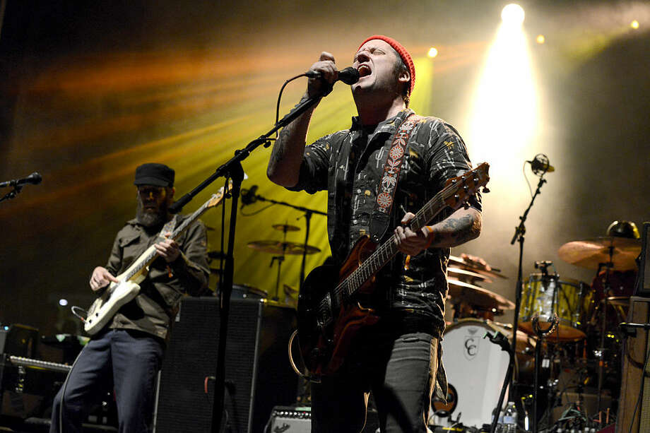 Modest Mouse performs during the Fun Fun Fun Festival at Auditorium Shores  on November 8, 2014 in Austin, Texas. Photo: Tim Mosenfelder, Getty  / 2014 Tim Mosenfelder