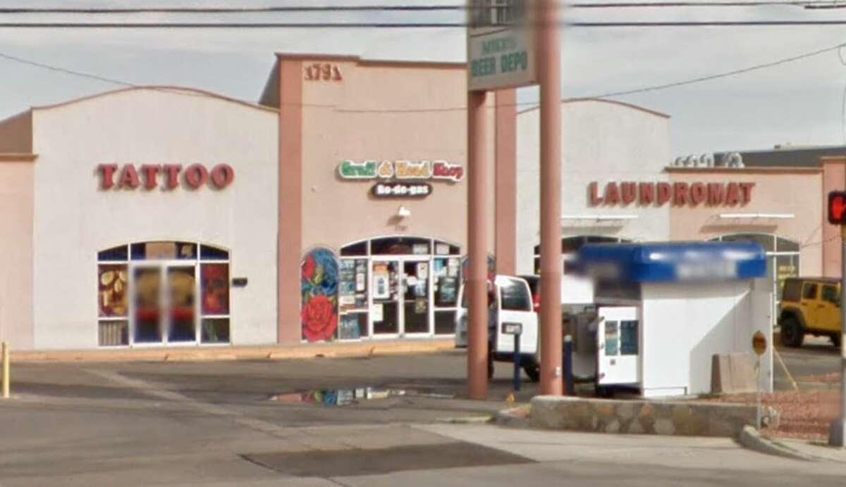 Bo-De-Gas Graff Head Shop: 1791 Zaragoza Road, Suite C, El Paso, TX 79936Military installation: Fort Bliss