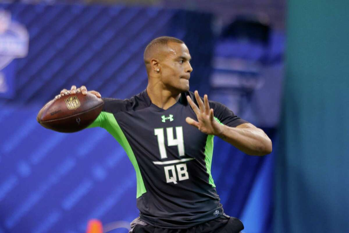 QB: Dak Prescott, Mississippi St. Notes: With Russell Wilson coming off of his best season yet, securing a quarterback of the future isn't a pressing need for the Seahawks. But with longtime backup Tarvaris Jackson exploring free agency for the second-straight season, Seattle might be thinking about grooming a backup. Prescott, like Wilson, is a good athlete at the position and has impressed teams with his character and leadership traits. If he's available in the middle rounds, he could be a great fit. However, he may have performed well enough at the combine to make him too hot of a prospect for the Seahawks, who won't spend a top pick on a signal caller.