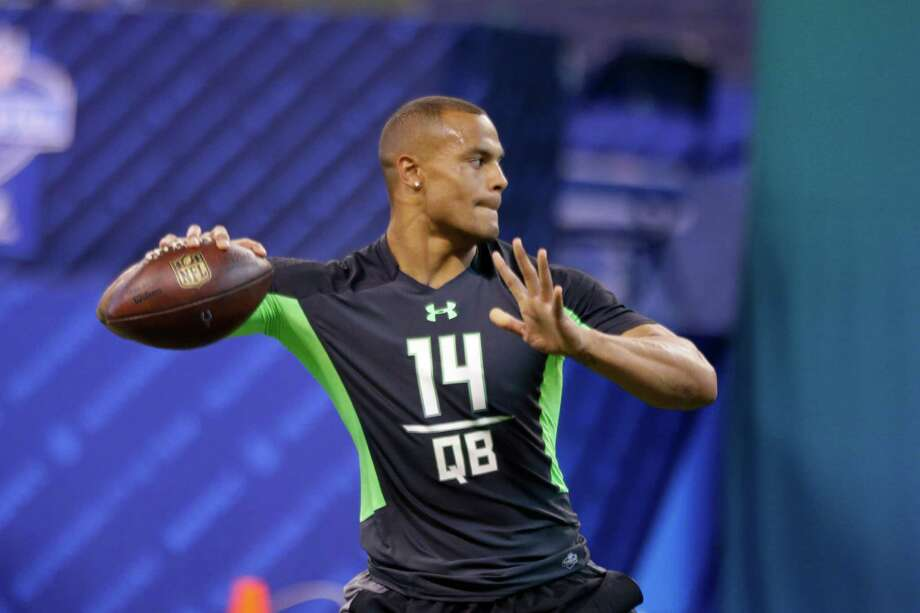 QB: Dak Prescott, Mississippi St. Notes:With Russell Wilson coming off of his best season yet, securing a quarterback of the future isn't a pressing need for the Seahawks. But with longtime backup Tarvaris Jackson exploring free agency for the second-straight season, Seattle might be thinking about grooming a backup. Prescott, like Wilson, is a good athlete at the position and has impressed teams with his character and leadership traits. If he's available in the middle rounds, he could be a great fit. However, he may have performed well enough at the combine to make him too hot of a prospect for the Seahawks, who won't spend a top pick on a signal caller. Photo: Michael Conroy, Associated Press / AP