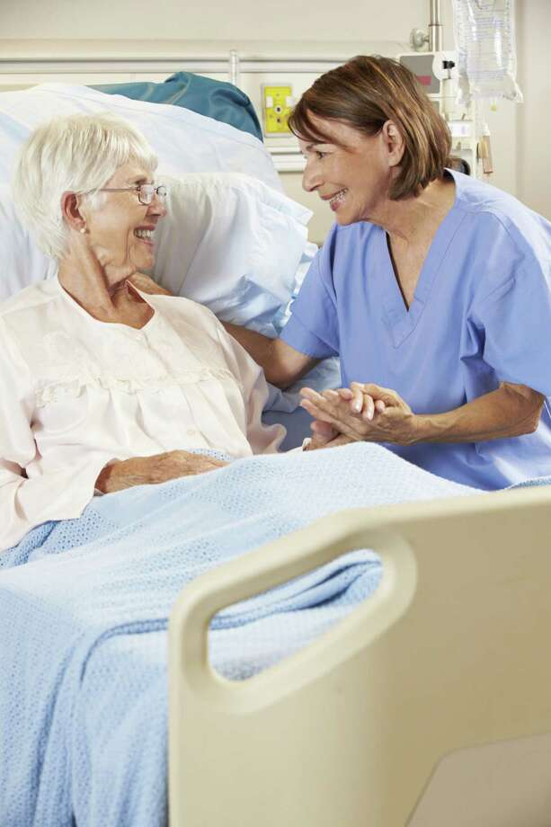 Working with senior citizens and those in hospice and pallative care requires compassion. / iStockphoto