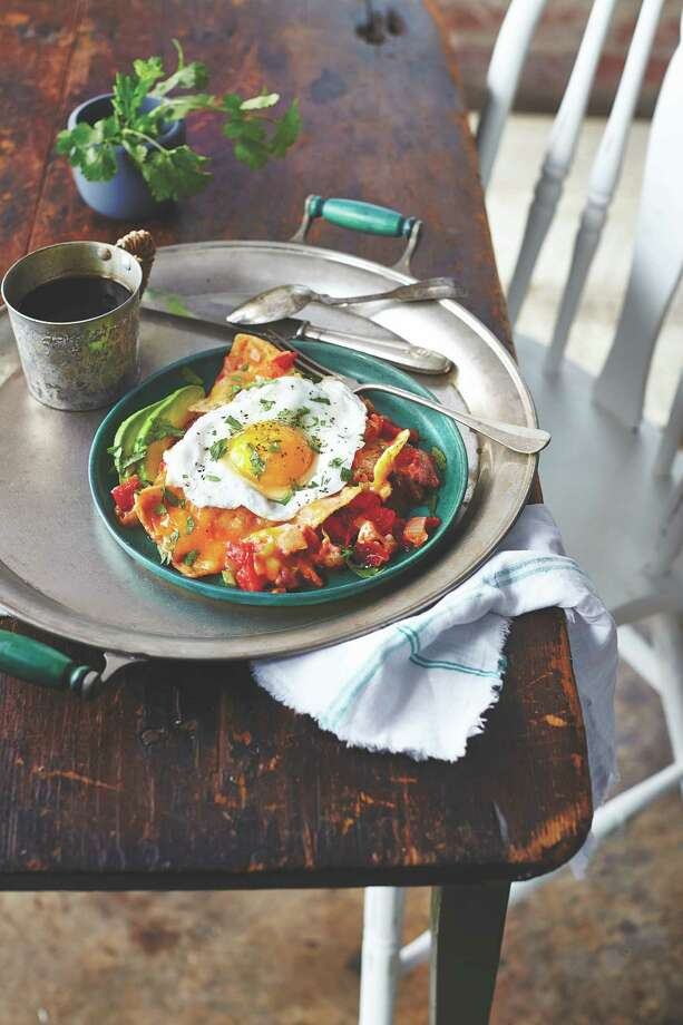 """Chilaquiles  from """"United Tastes of Texas: Authentic Recipes from All Corners of the Lone Star State"""" by Jessica Dupuy (Oxmooor House, $24.95). Photo: Oxmoor House"""