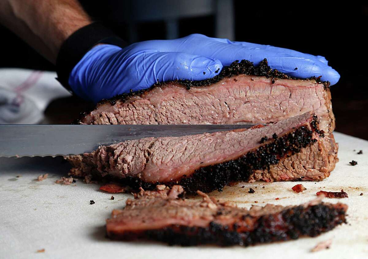 The brisket served at Pappa Charlie's Barbecue today probably didn't come from a cow that got to the butcher on a cattle drive.