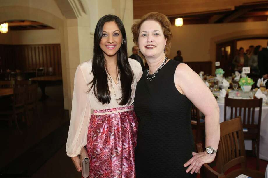 Sippi Khurana and Judy Blake  Photo: Amber Elliott, Houston Chronicle / © 2016  Houston Chronicle