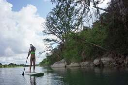 The River Valley Ranch offers recreational opportunities on the Pdernales in the Texas Hill Country.