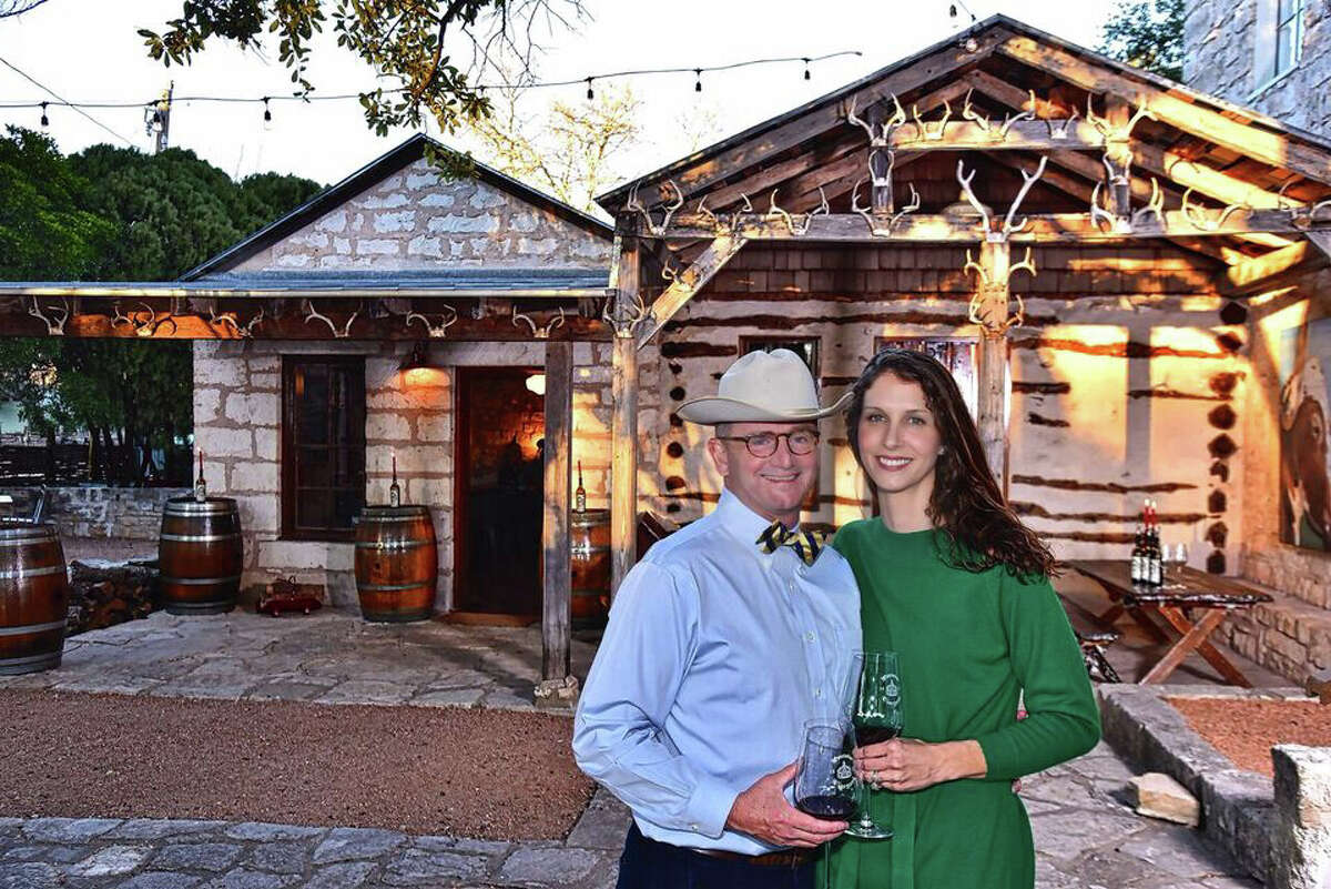 Pontotoc Vineyard owners, Carl and Frances Money
