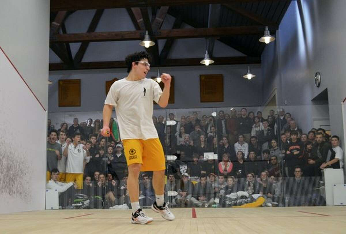 Brunswick School squash won the national championship Sunday 2016 Max Finkelstein?'s win at the No. 4 spot clinched Brunswick School?'s victory against Haverford School Sunday in the finals of the U.S. Squash Team Championships in Philadelphia.