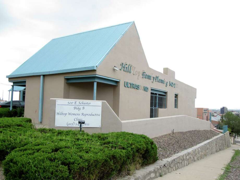 The Hilltop Women's Reproductive Clinic in El Paso is among those that would have to close if the Supreme Court rules in favor of Texas' strict law. Photo: Juan Carlos LLorca, STF / AP