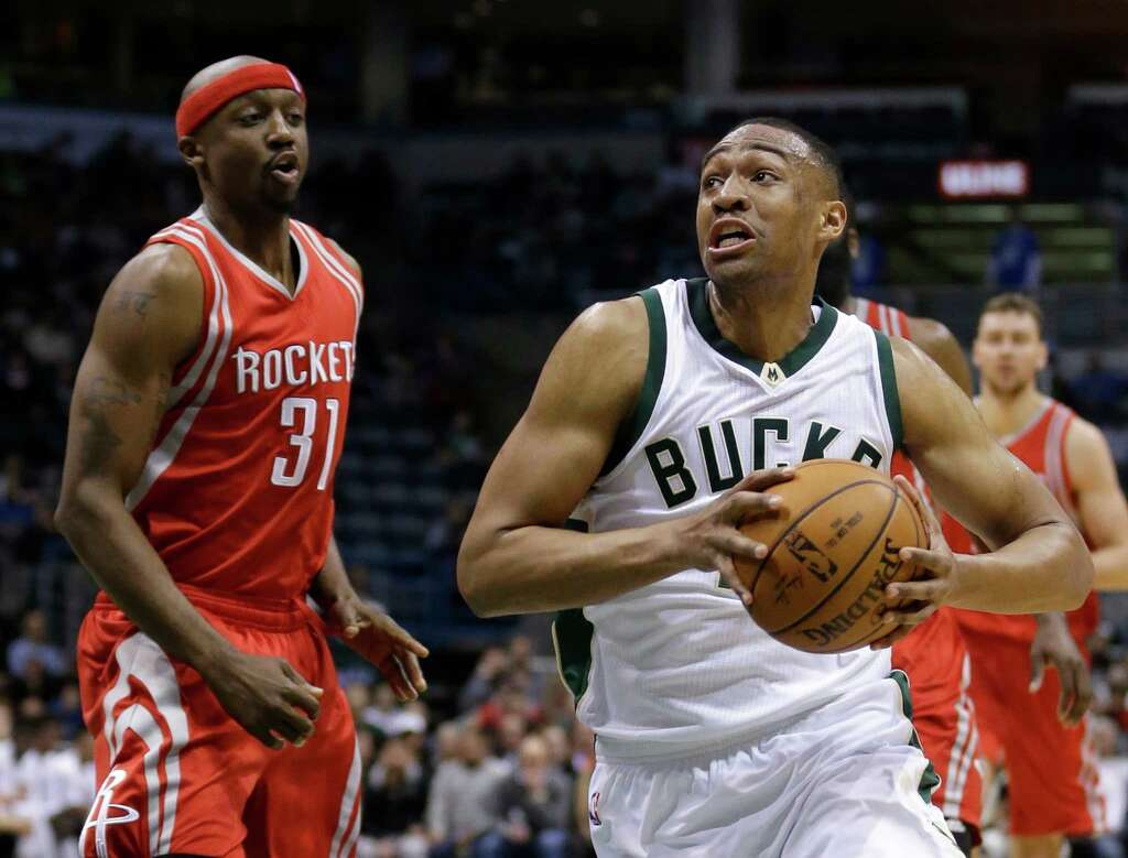 nba player s essay on expectations of black youth resonates milwaukee bucks jabari parker drives past houston rockets jason terry 31 during