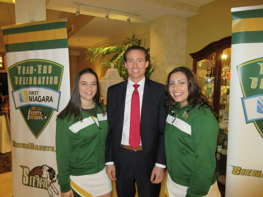 Were you Seen at the First Niagara Siena Basketball Celebration at Glen Sanders Mansion in Scotia on Monday, Feb. 29, 2016? Photo: Siena Athletics