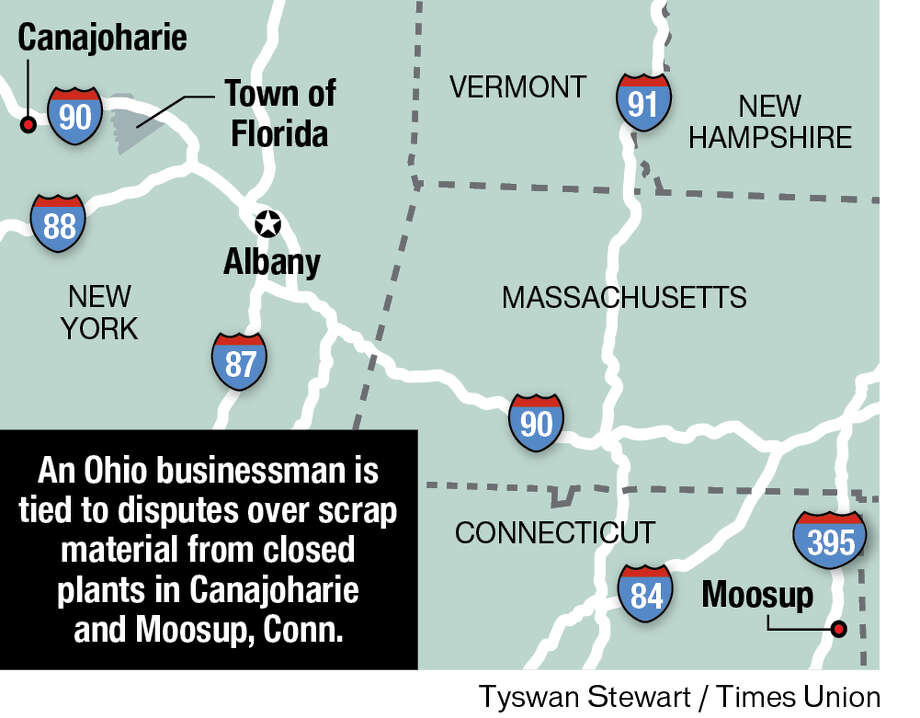Closed plants in Canajoharie and Moosup, Conn.