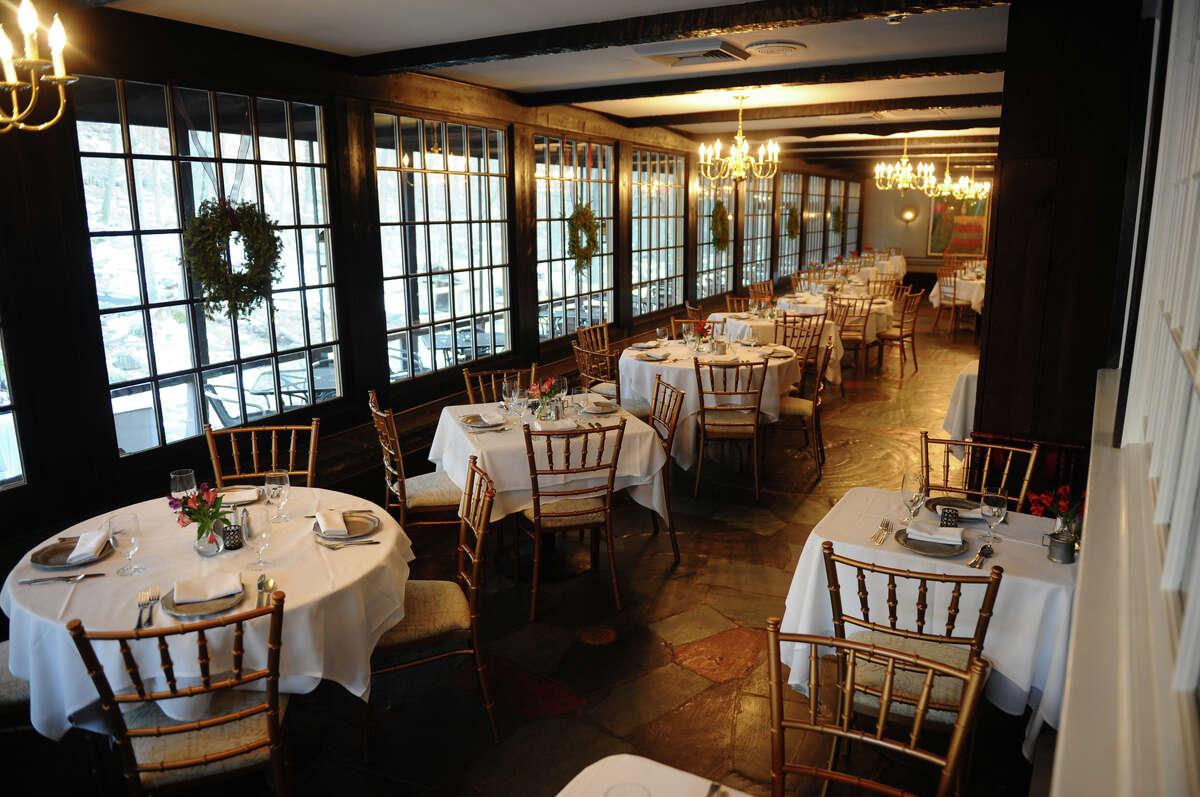 Views of La Roue Elayne at Cobb's Mill Inn in Weston on Tuesday January 8, 2013.