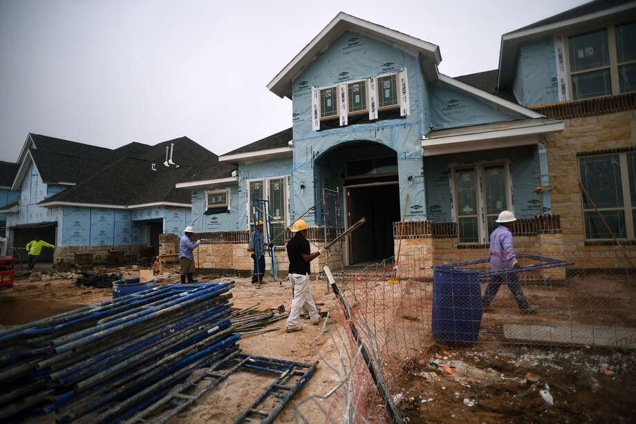 Trendmaker Homes is at work on a new home along Driftwood Harbor in Lakes at Creekside in Tomball.Trendmaker Homes is at work on a new home along Driftwood Harbor in Lakes at Creekside in Tomball. Photo: Jerry Baker, Freelance