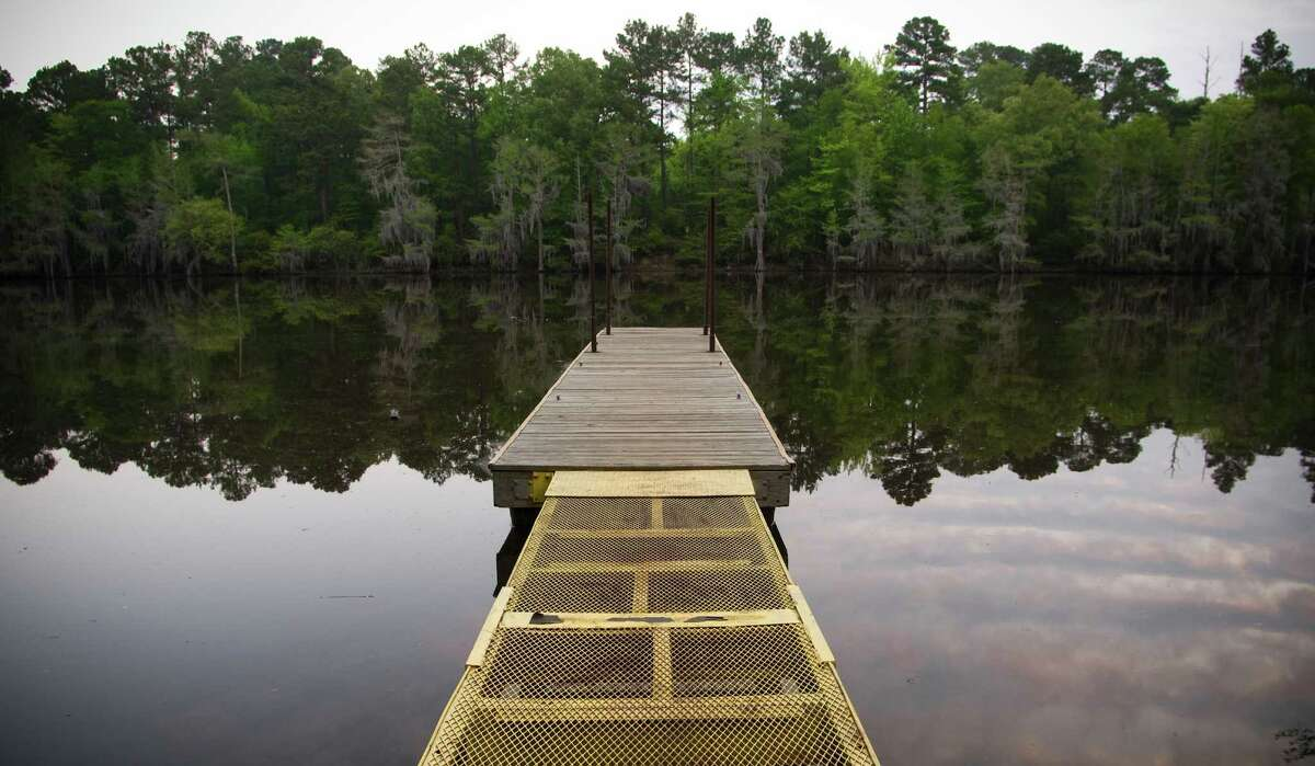 Caddo Lake Karnack, Texas Just look at how peaceful that photo is. It's the South's largest natural freshwater lake and it happens to be home to the world's largest cypress forest.