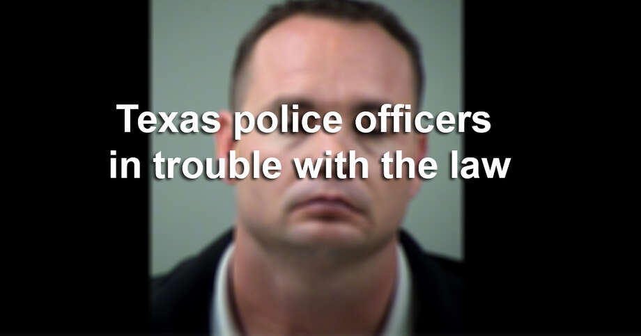 Click through the slideshow to see a list of Texas law enforcement officials who have been in trouble with the law. Photo: Courtesy / COURTESY OF THE BEXAR COUNTY SHERIFF DEPARTMENT