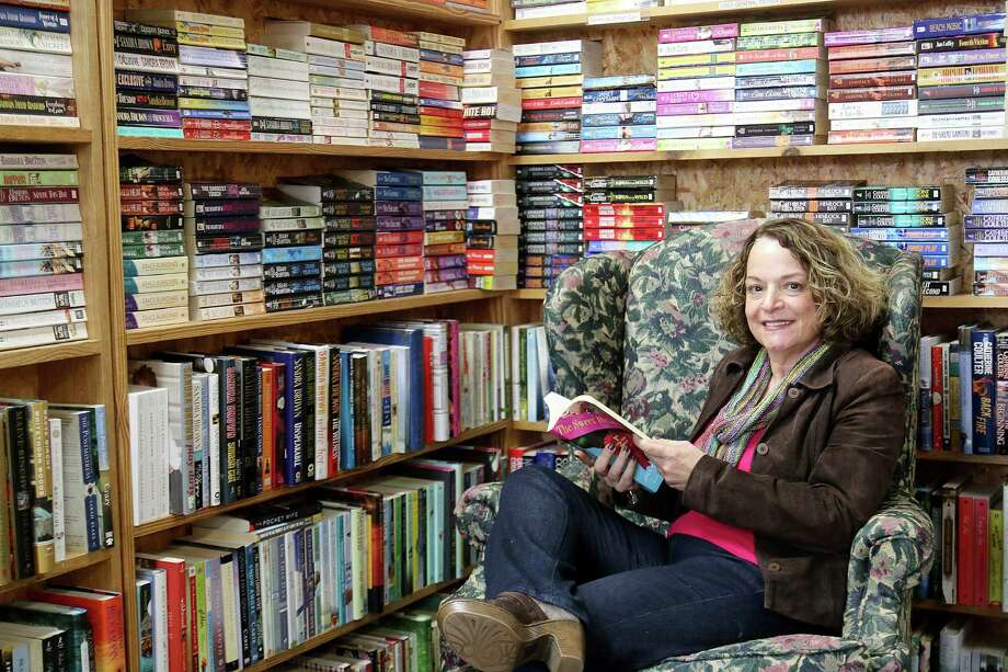 "Tamra Doré stumbled onto  Katy Budget Books in 1983 and two weeks later quit her accounting job to buy the business. Despite leaving a well-paying job and dealing with competitive threats from big-box bookstores, ebooks and online booksellers, she says it was a great move. ""You can't get better than dealing with books all day,"" she says.  Photo: Pin Lim, Freelance / Copyright Forest Photography, 2015."