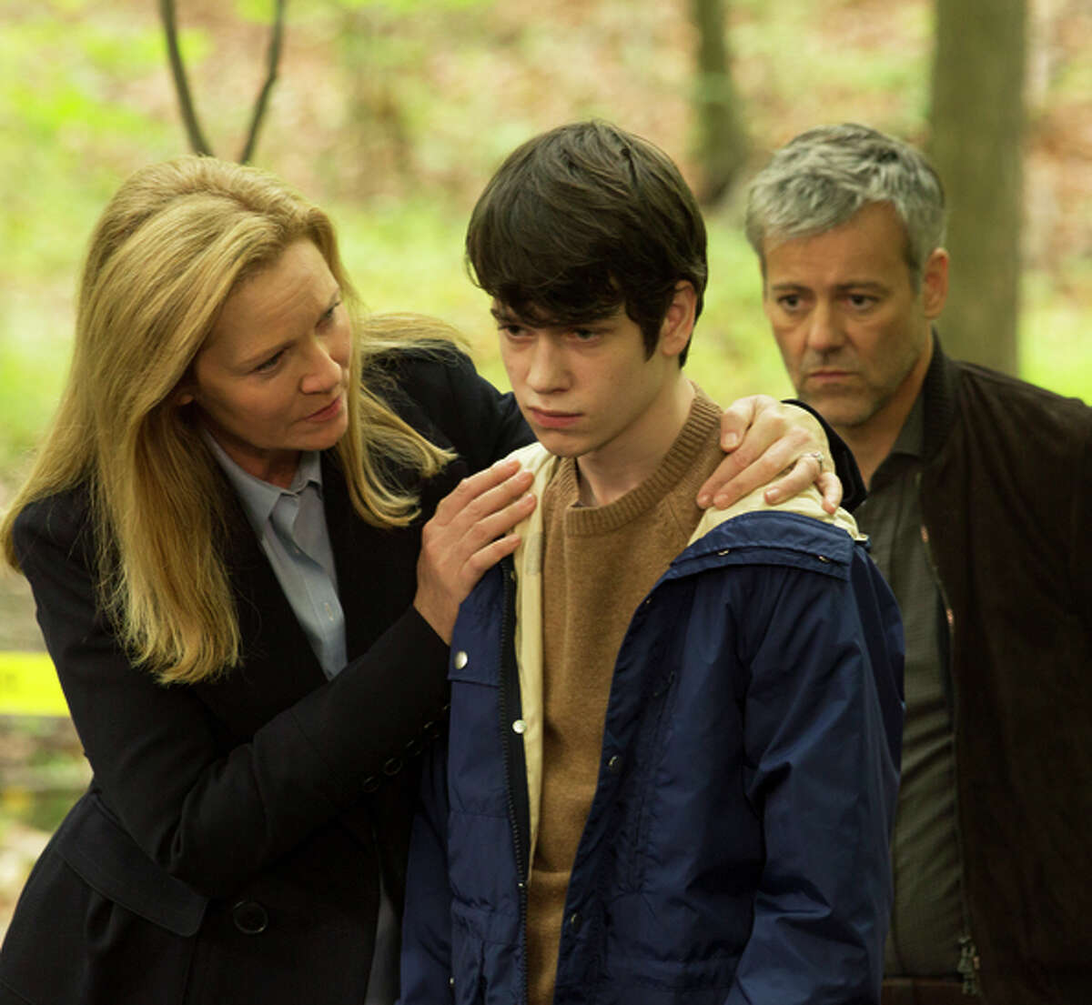 Liam James (with Joan Allen, Rupert Graves) as an abducted boy who returns.