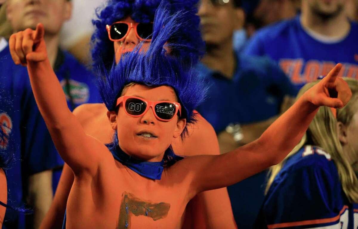 9. Florida 90,065 fans per game
