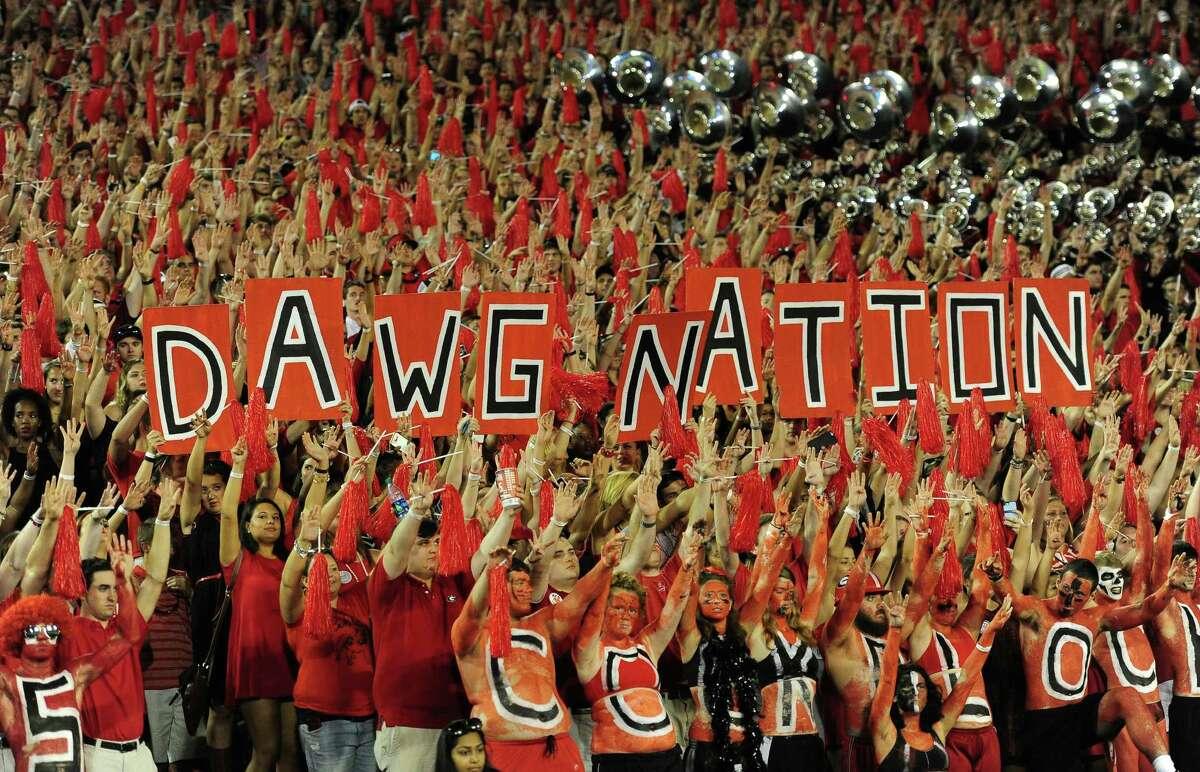 8. Georgia 92,746 fans per game