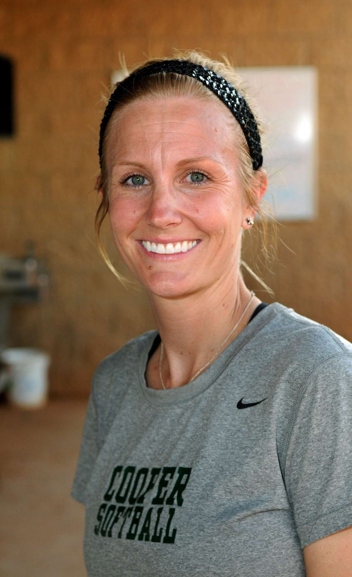 The John Cooper School head softball coach Nicole Hedden