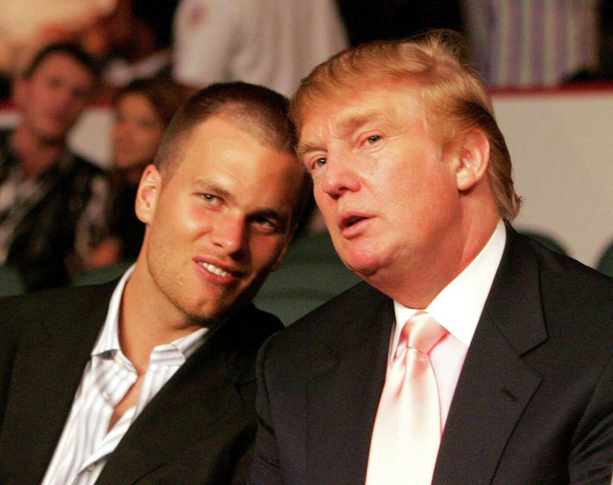 Tom Brady (Donald Trump) The New England Patriots quarterback has never officially endorsed Donald Trump but he doesn't hide the fact that the two are close.